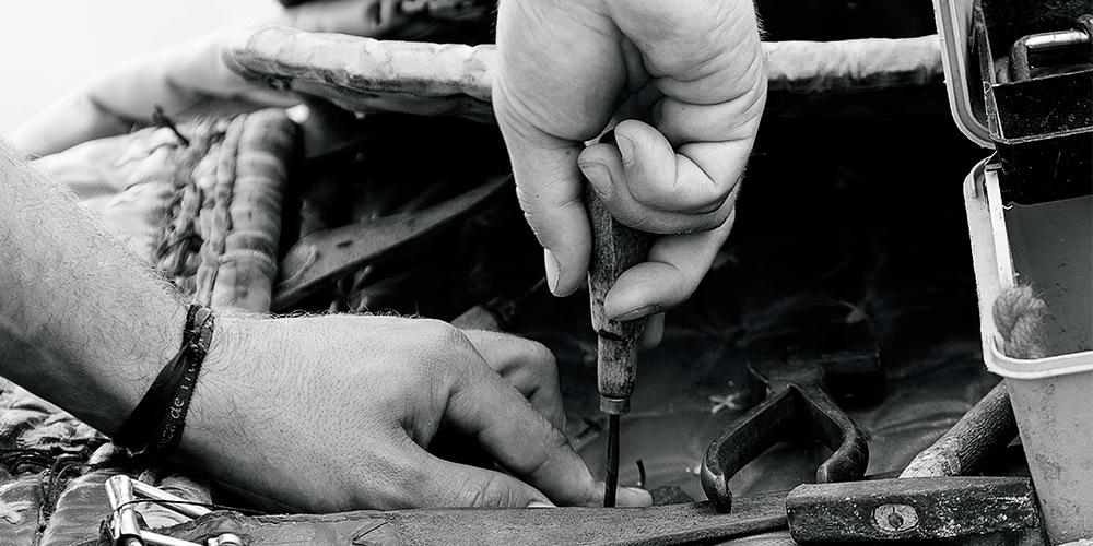 reparer dit udstyr