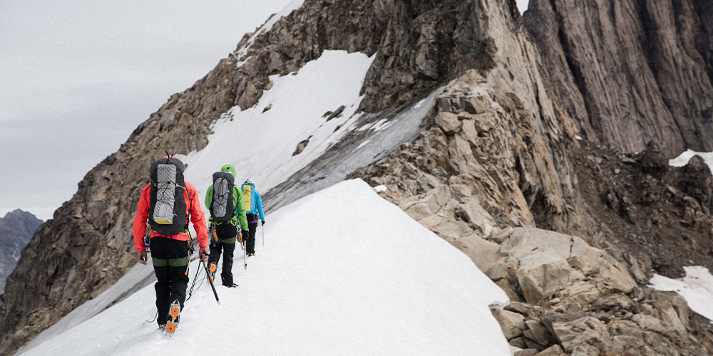 Softshell til bjergbestigning - Eventyrsport