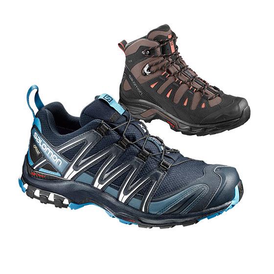 Salomon Sko, støvler og tøj fra Salomon Eventyrsport