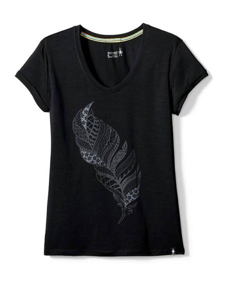Women's Merino 150 Feather Tee dame T shirt T shirts