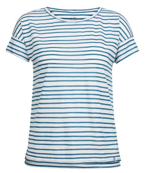 Wmn's Aria SS Scoop Pulled Lines dame T shirt T shirts
