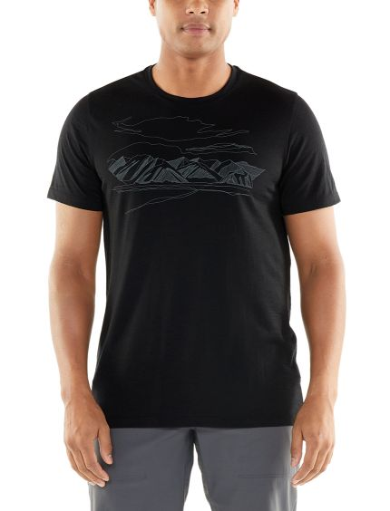Tech Lite SS Crewe Coronet Peak Men herre T shirt