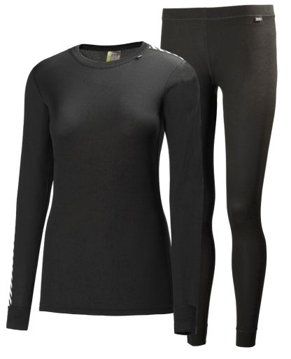 e8aee8c1 Helly Hansen - HH Comfort Light Set Women undertøj - 990 Black