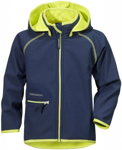 2f74a3cfc Didriksons - FRENEKA KID'S SOFTSHELL JACKET - NAVY 039