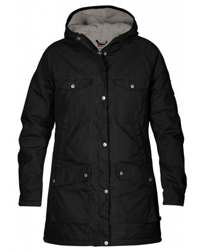 302c71891 Fjällräven - Greenland Winter Parka WMS - Black/ Grey