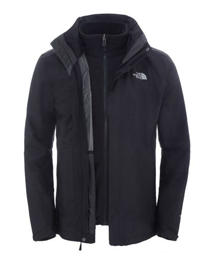 083e2f55 The North Face - EVOLUTION II TRICLIMATE JACKET MEN herrejakke - Tnf Black