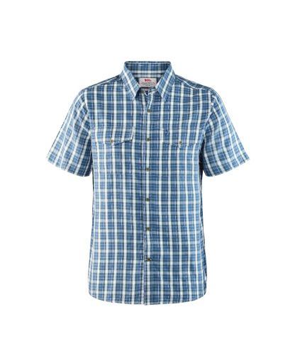 65fd3a21236 Fjällräven - Abisko Cool Shirt SS skjorte - Uncle Blue