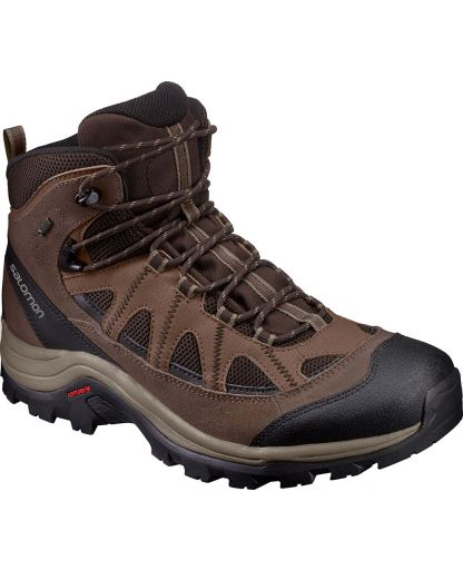 bbfd38db5a2 Salomon - AUTHENTIC LTR GTX herrestøvle - Black Coffee/Chocolate Brown/V