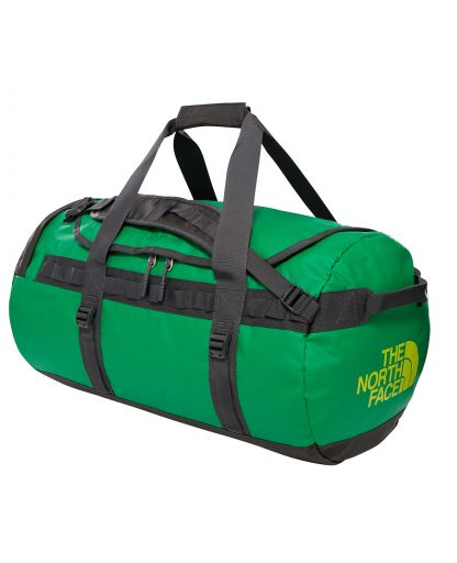 42f4e277ef9 The North Face - BASE CAMP DUFFEL M 71 liter - Primary Green/Asphalt Gry
