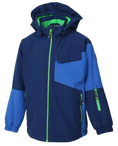 c101d0d6 Color Kids - Debora Padded Ski Softshell til børn - Estate Blue