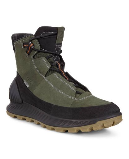 ECCO ECCO Womens Exostrike GTX Hi black|wild dove | Womens Hiking & Trail — B Alla