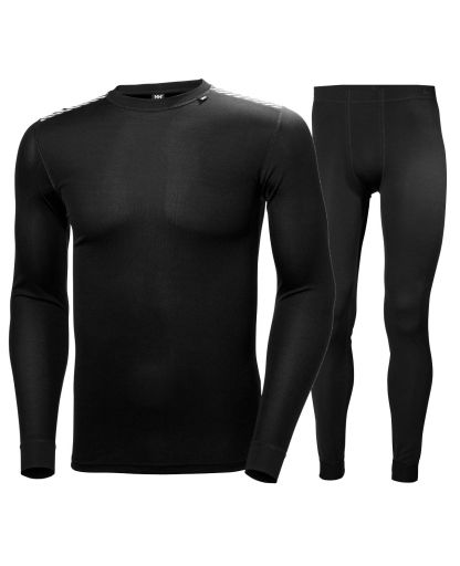 2e7ef6fd Helly Hansen - HH Comfort Dry / Light Set undertøj - 990 Black