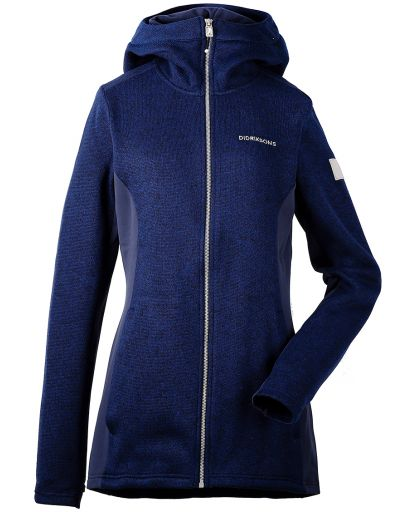 a0816406 Didriksons - Merra Jacket Women damefleece - NAVY 039