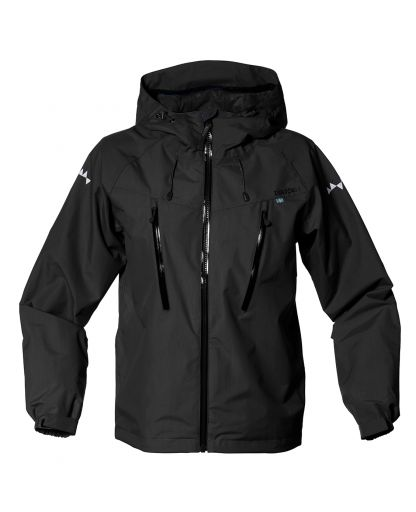 c92cd473b87 Isbjörn - Monsune Hard Shell Jacket Teens børnejakke - Black