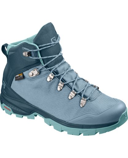 c7656c760913 Salomon - Outback 500 GTX Women vandrestøvle - Bluestone Reflecting  Pond Nile