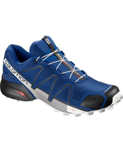 8c2d9a248a12 Salomon - SPEEDCROSS 4 herresko - Mazarine Blue Wil Black White