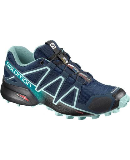 76a22971c372 Salomon - SPEEDCROSS 4 W damesko - Poseidon Eggshell Blue Black