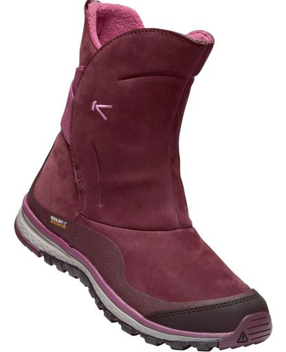 1aade1185210 Keen - Winterterra Leather Boots WP damestøvle - Winetasting Tulipwood