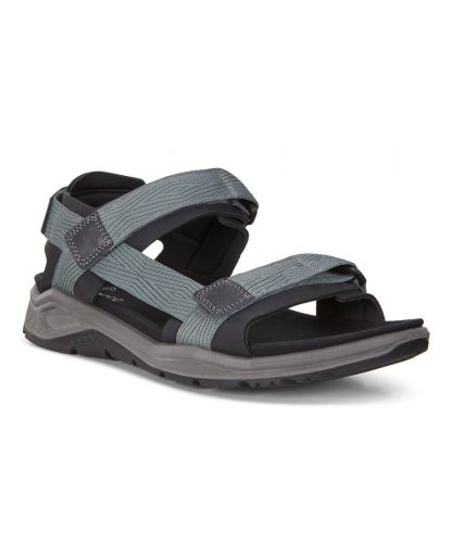 Ecco Leather Off Road Lite 3 Sandal in Light Grey (Gray) Lyst