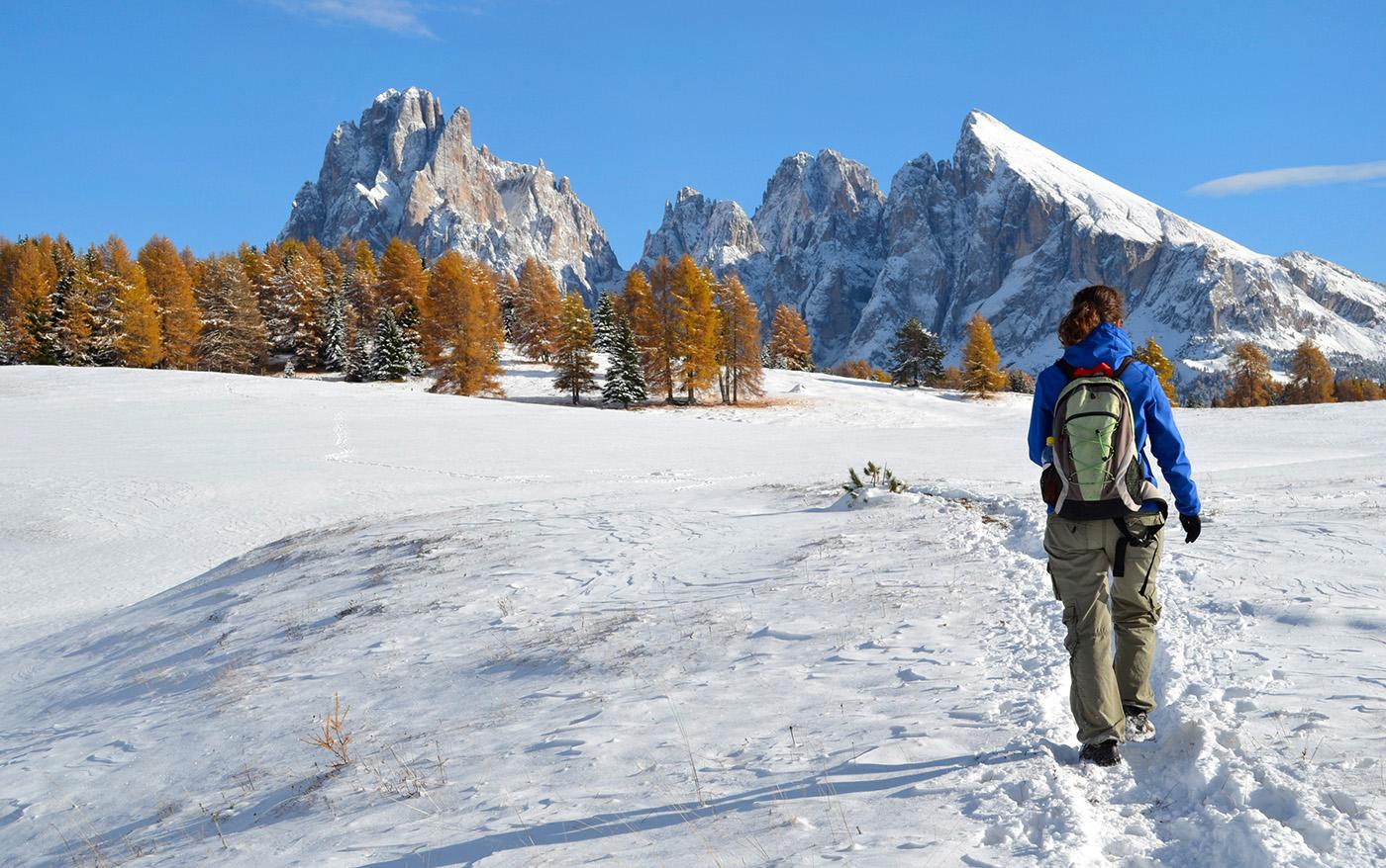 7 tips til at vandre om vinteren