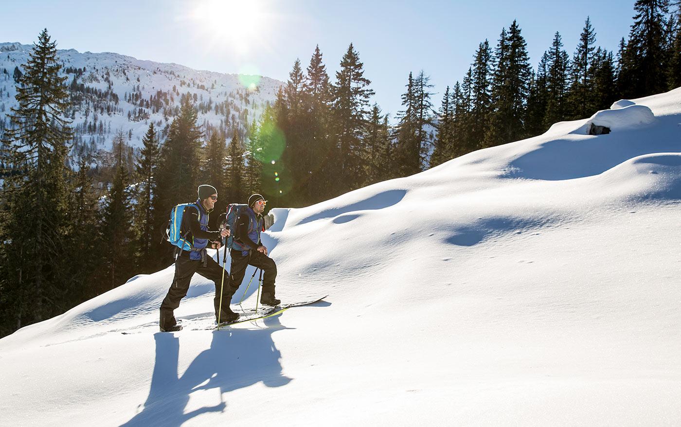 Klædt på til ski