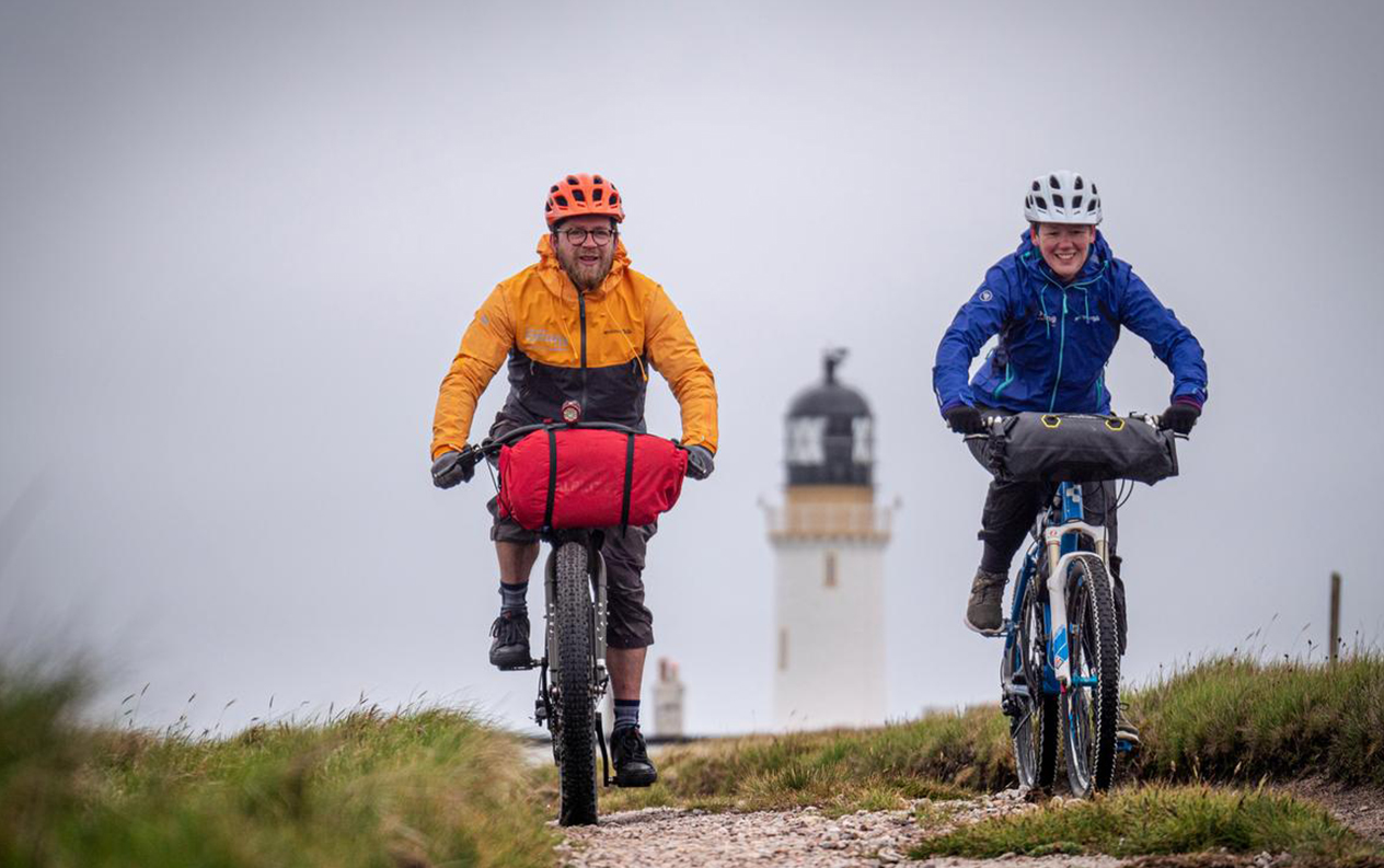 Ny cykelrute i England og Skotland