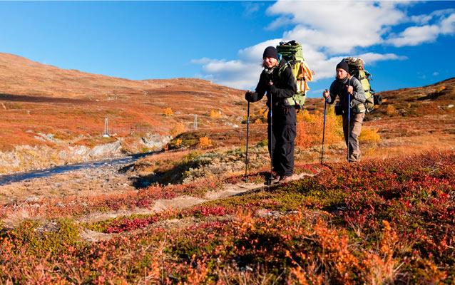 Udstyr til en sikker vandretur på fjeldet