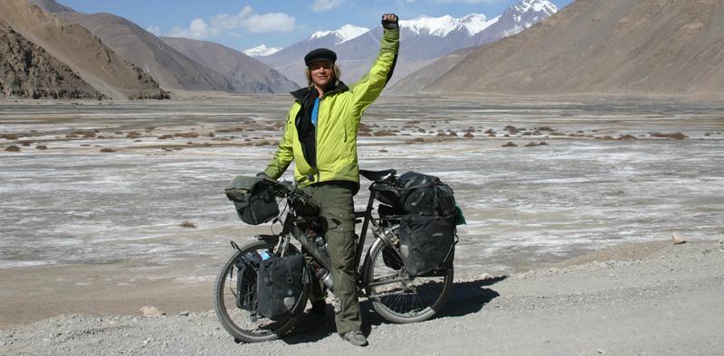 Nicolai Bangsgaard på cykeltur i Tibet