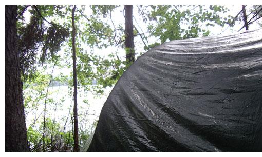 Vådt telt
