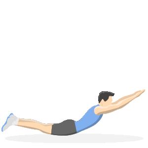 Gode træningsøvelser til løbere - back bends