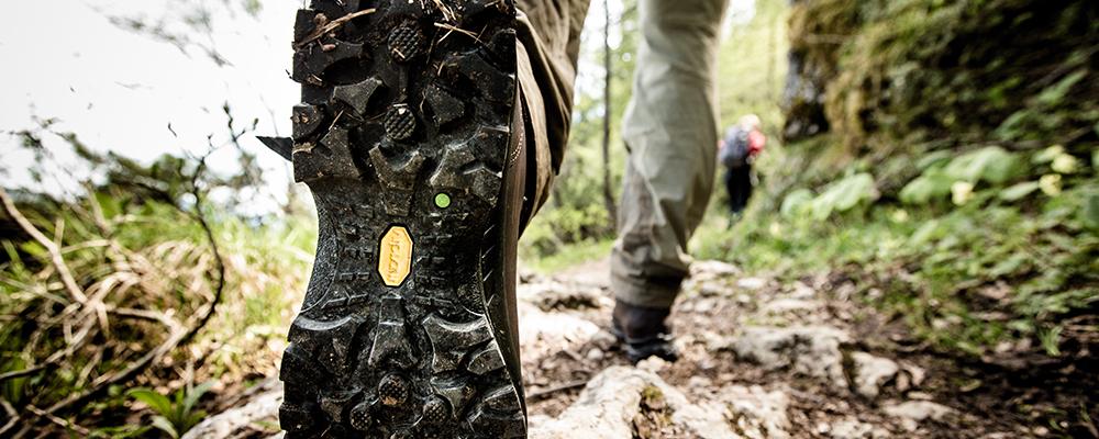 Bedste vandrestøvler - såle - vibram såle