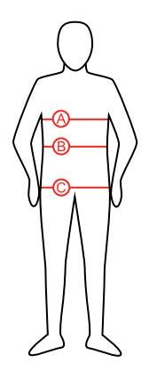 Størrelsesguide - Holebrook - tøj - herrer